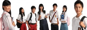 Produksi Tas Sekolah Anak SD SMP SMA
