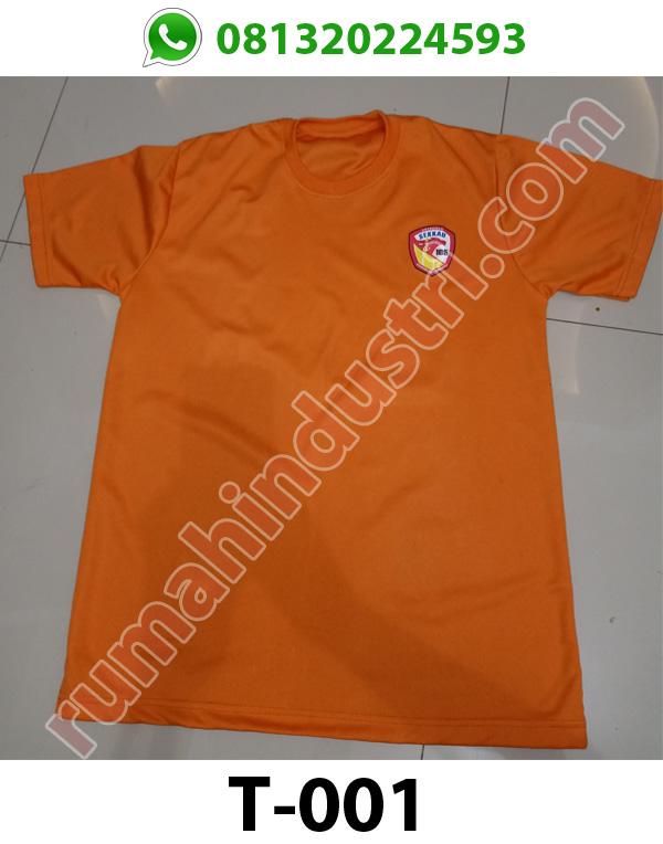 Kaos Olahraga Seragam T-Shirt DriFit T001